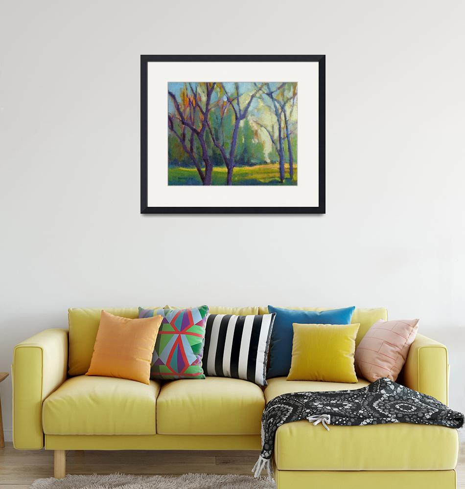 """""""Forest in Spring""""  (2017) by KonnieKim"""