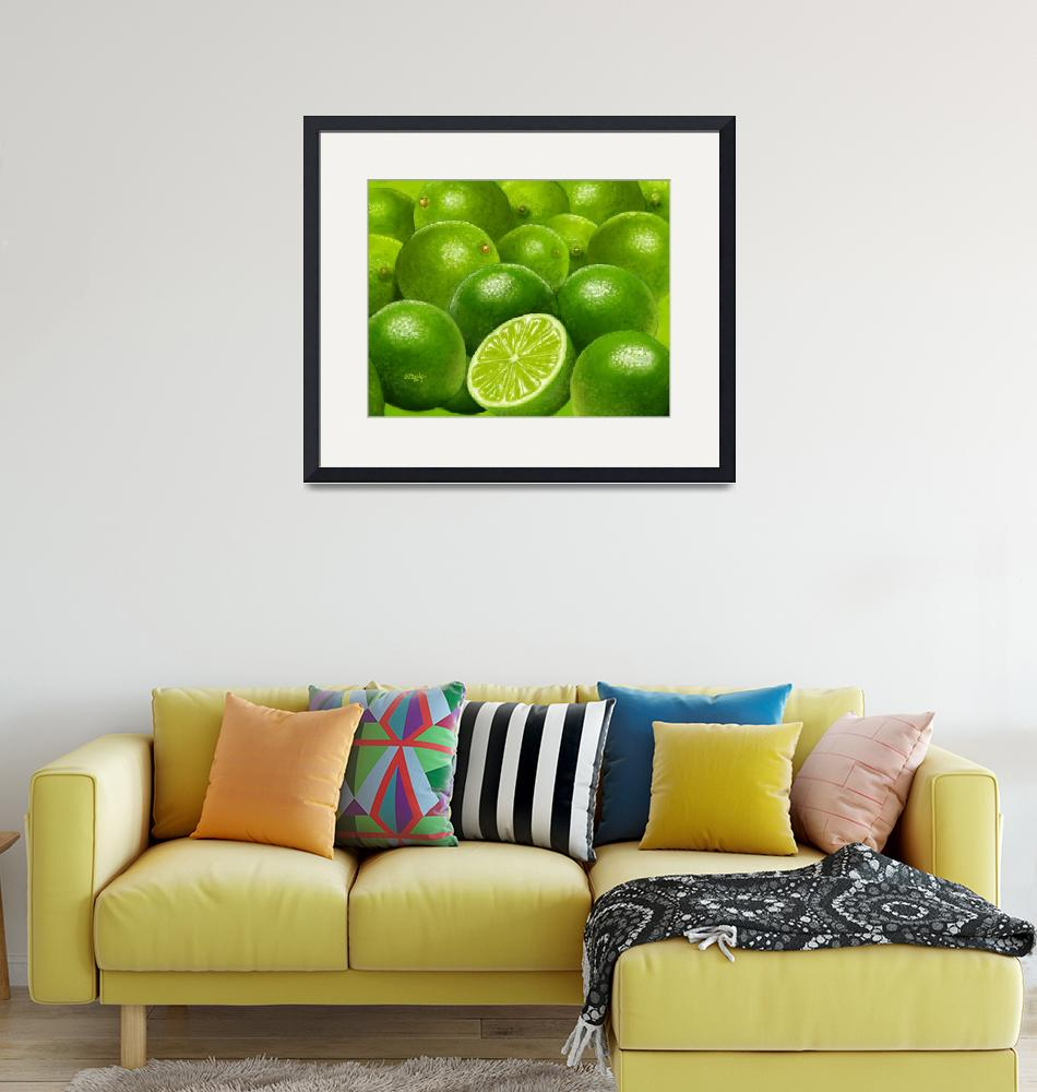 """""""Celebration in Lime Green""""  by Tim"""