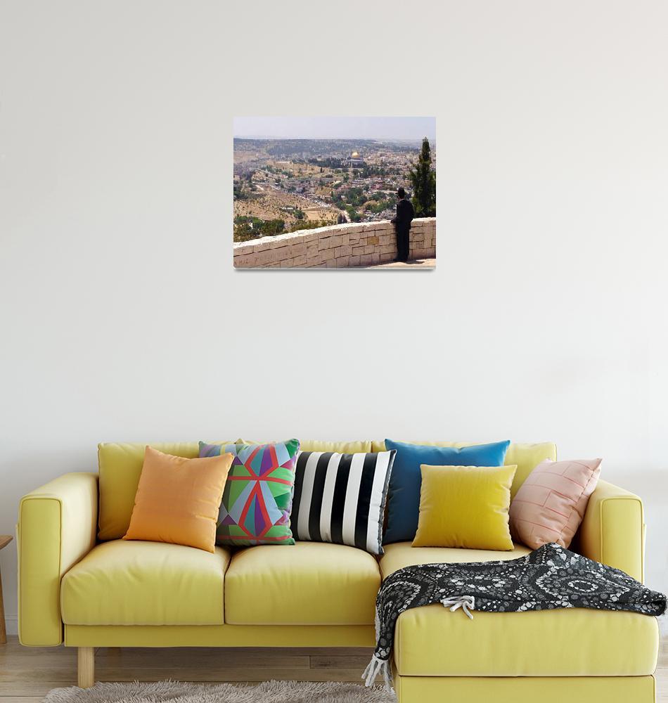 """""""Old City Jerusalem""""  (2014) by Happydogtales"""