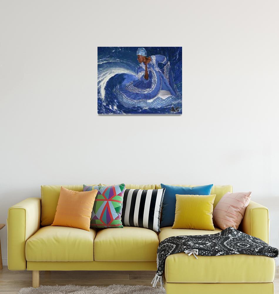"""OCEAN QUEEN""  (2009) by AFROFUSION"