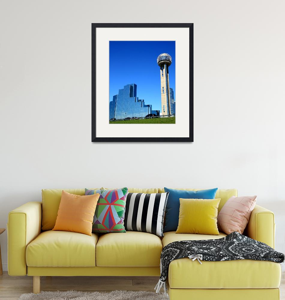 """Dallas - Reunion Tower""  (2009) by rayjacque"
