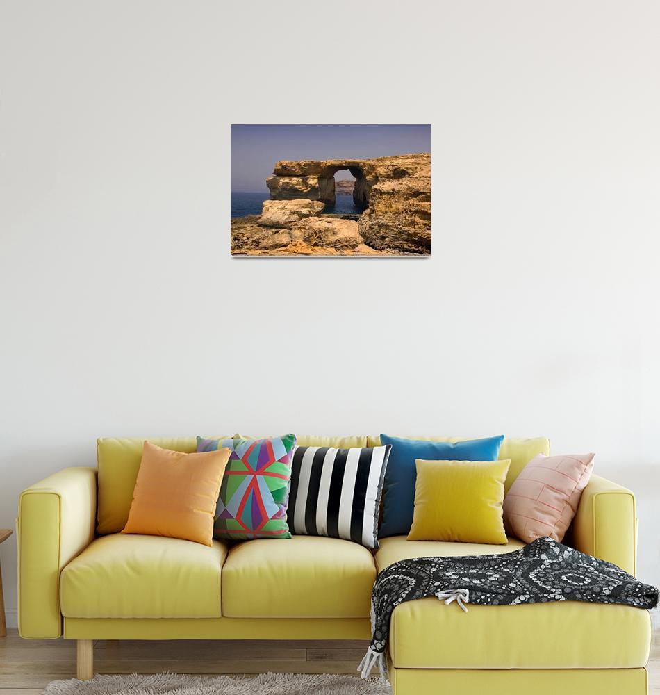 """stunning coastal landscape with spectacular cliffs""  (2007) by katta"