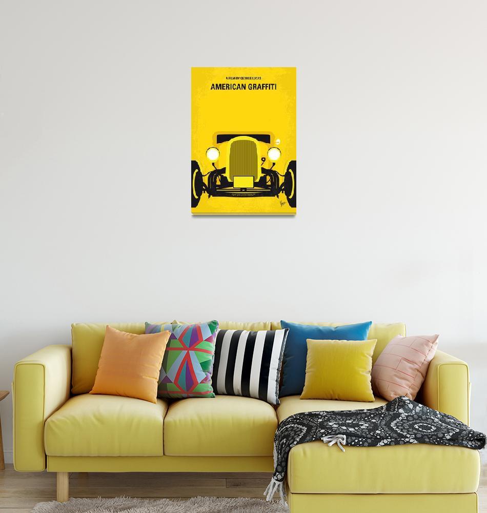 """""""No1085 My American Graffiti minimal movie poster""""  by Chungkong"""