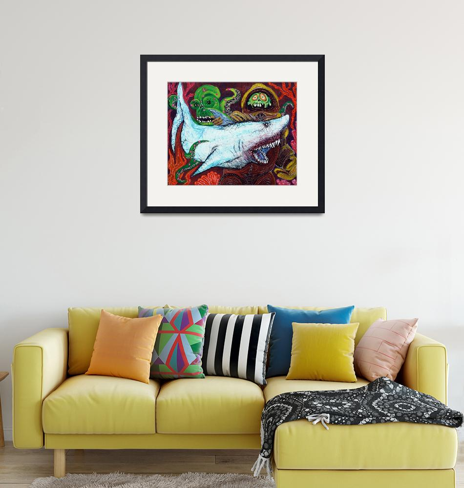 """""""Creatures Of The Deep""""  (2013) by ArtPrints"""