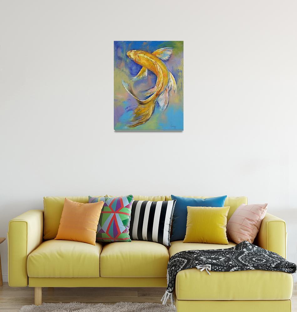 """Orenji Butterfly Koi""  by creese"