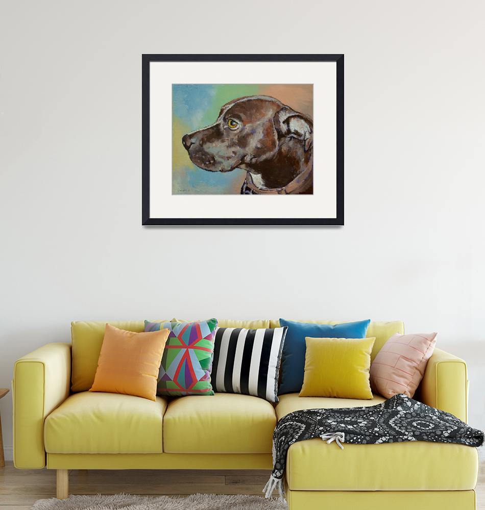 """""""Dog Portrait"""" by creese"""