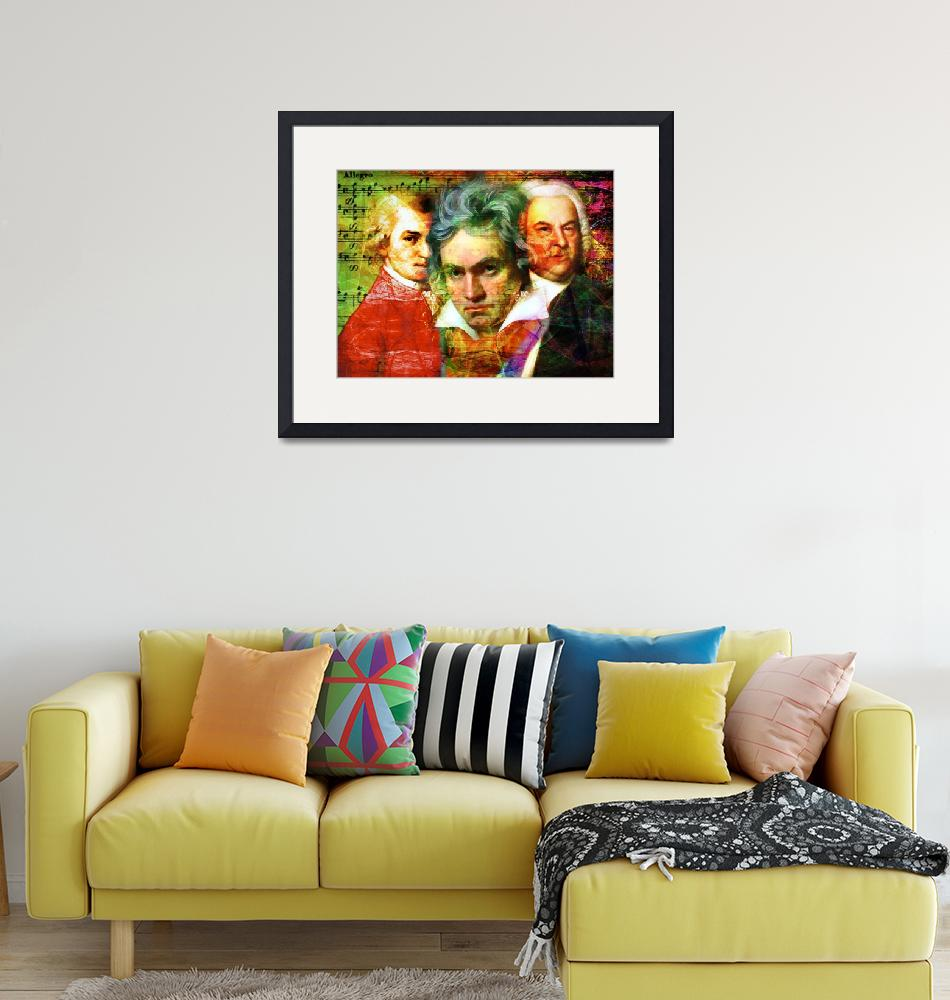 """""""Mozart Beethoven Bach 20140128""""  (2017) by wingsdomain"""