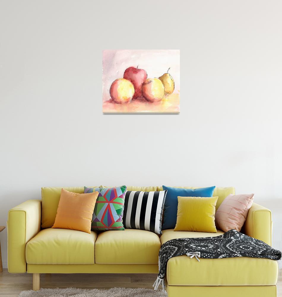 """Fruit Trio (Plus)""  (2008) by tolunart"