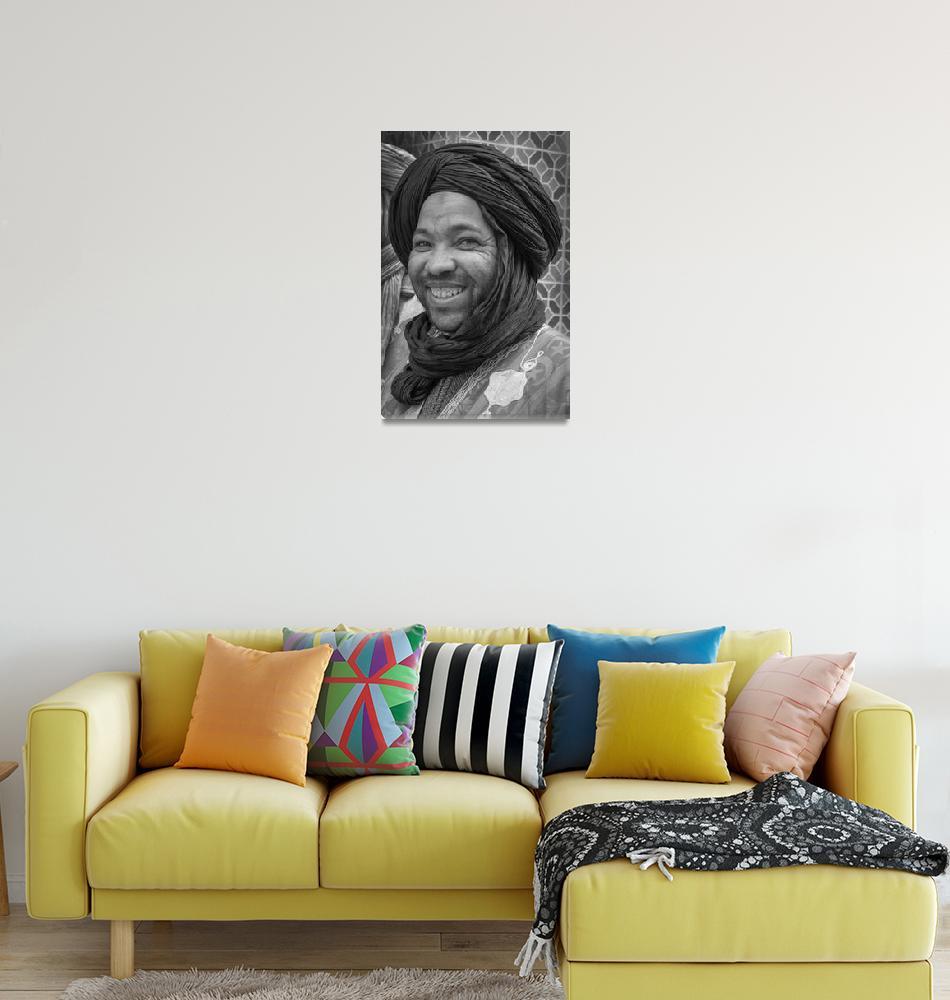 """Tuarag Portrait, Morocco""  (2020) by SederquistPhotography"