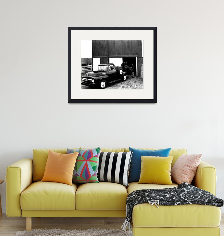 """""""Antique ford truck""""  by RetroImagesArchive"""