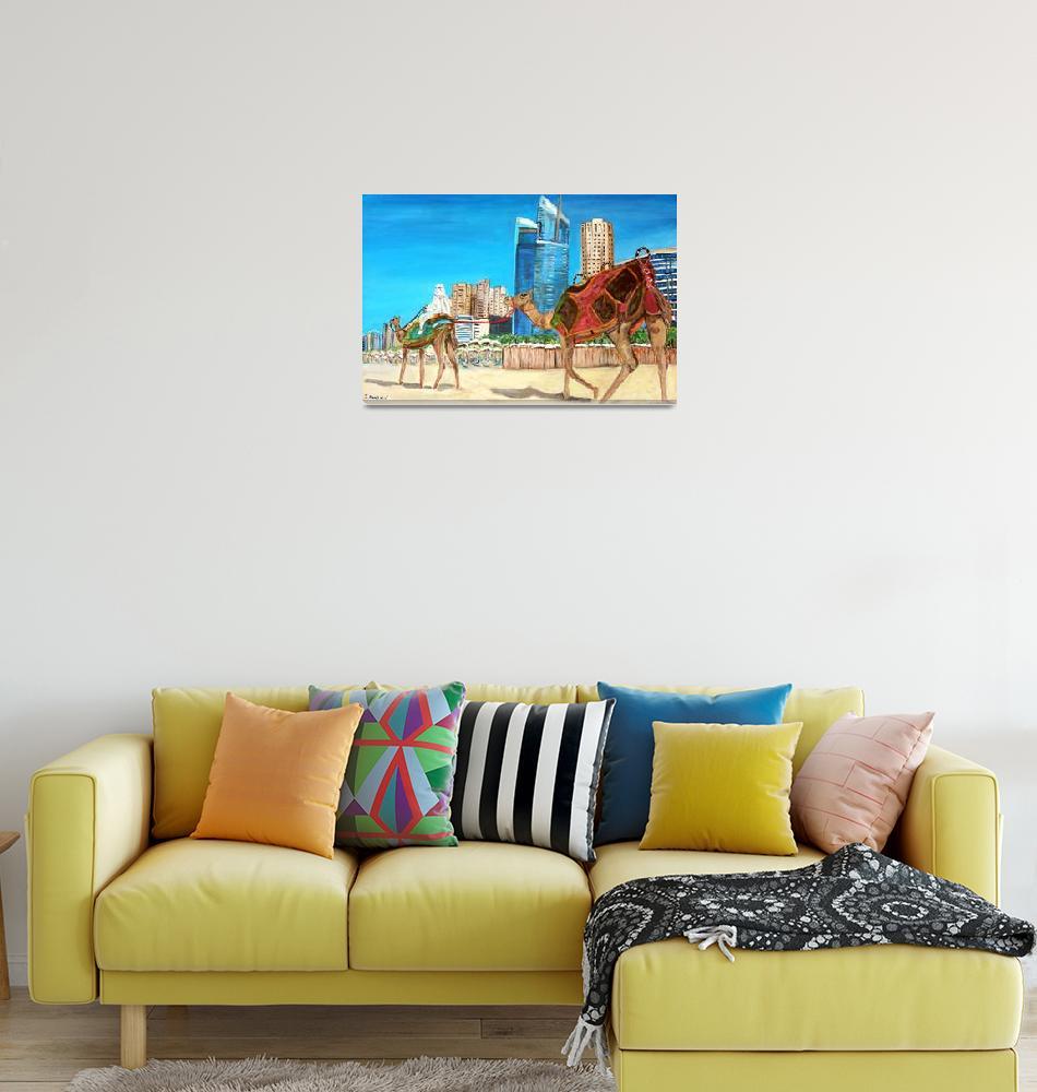 """""""Dubai Marina""""  (2009) by teresadominici"""