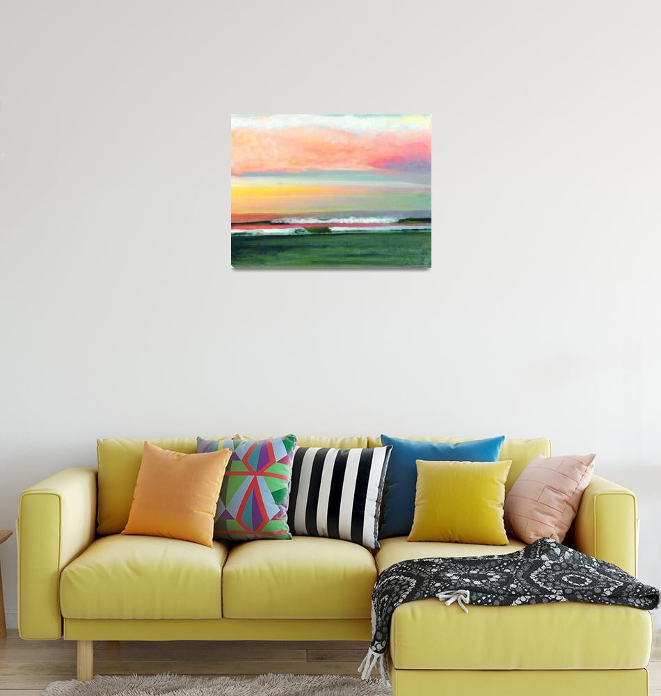 """Sunrise at the Ocean San Diego""  (2011) by RDRiccoboni"