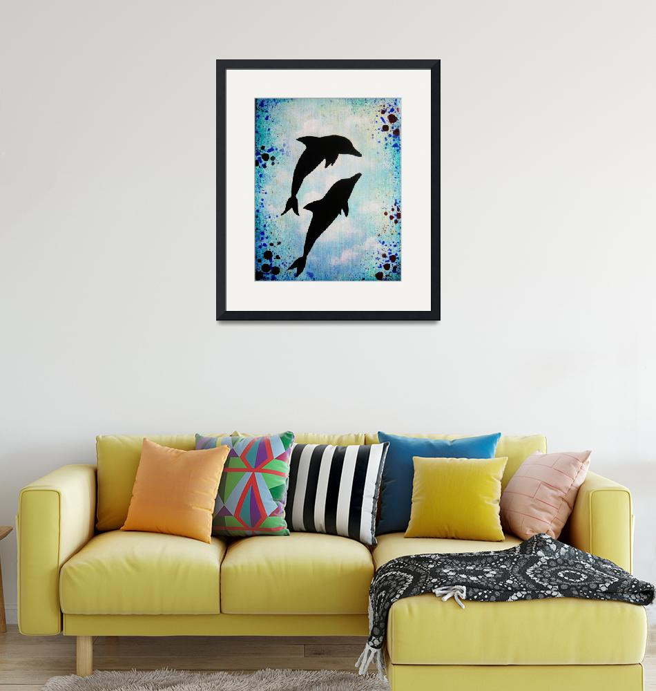 """""""dolphins8x10""""  by foxfyer"""