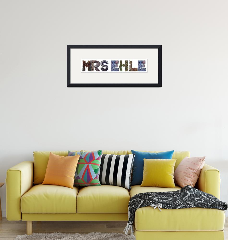 """""""Mrs Ehle""""  by animalsoup"""