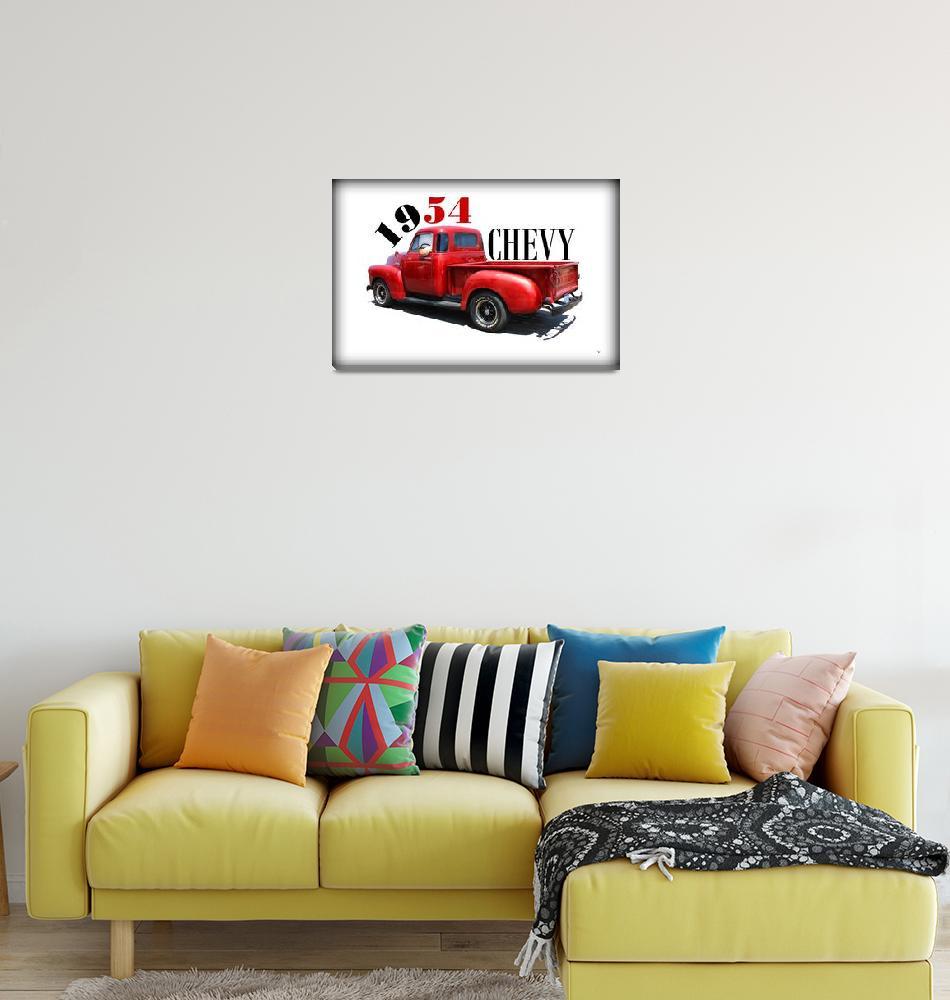 """1954 Chevy""  (2014) by bettynorthcutt"