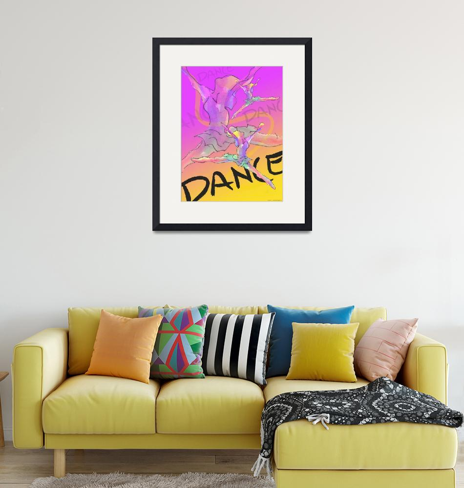 """Dance Poster 1""  (2004) by CrystalCarey"