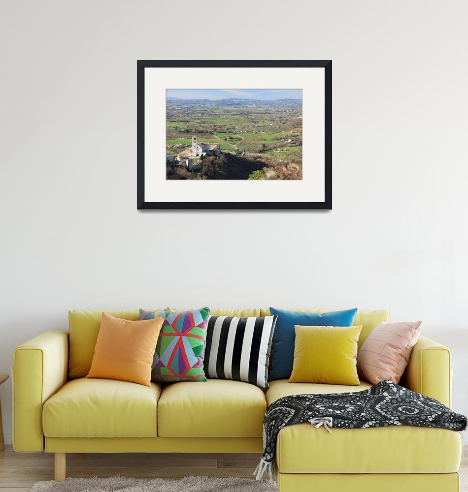 """""""Assisi countryside""""  (2010) by zurika"""
