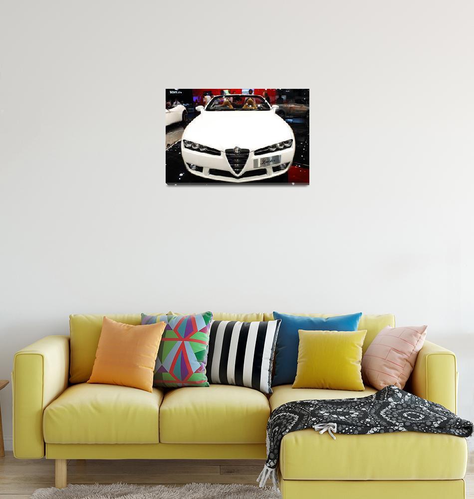 """Alfa Romeo, London Motorshow, August 2008""  (2008) by dvornik"