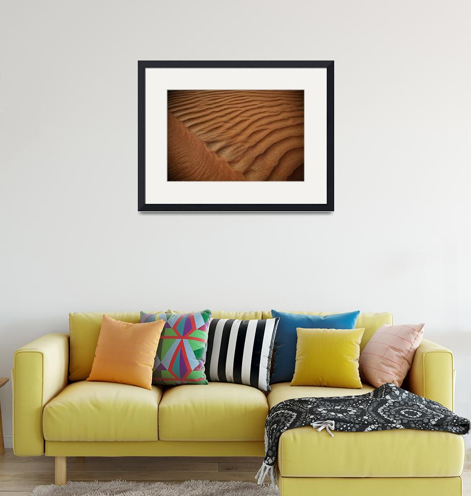 """Sand Patterns in the Desert 3""  (2007) by DonnaCorless"
