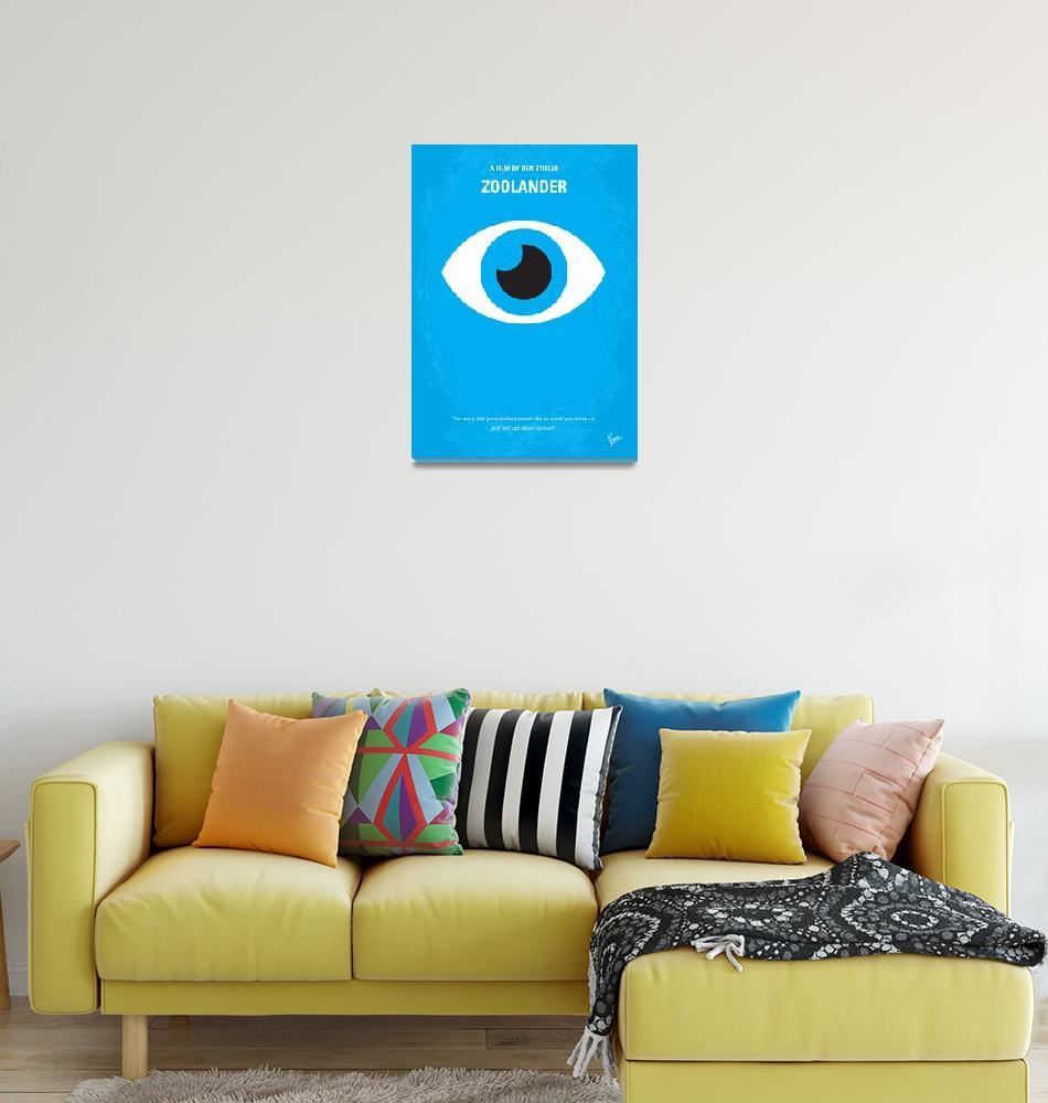 """""""No362 My Zoolander minimal movie poster""""  by Chungkong"""