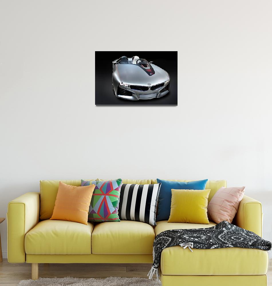 """""""BMW new model car""""  (2011) by Radodn"""