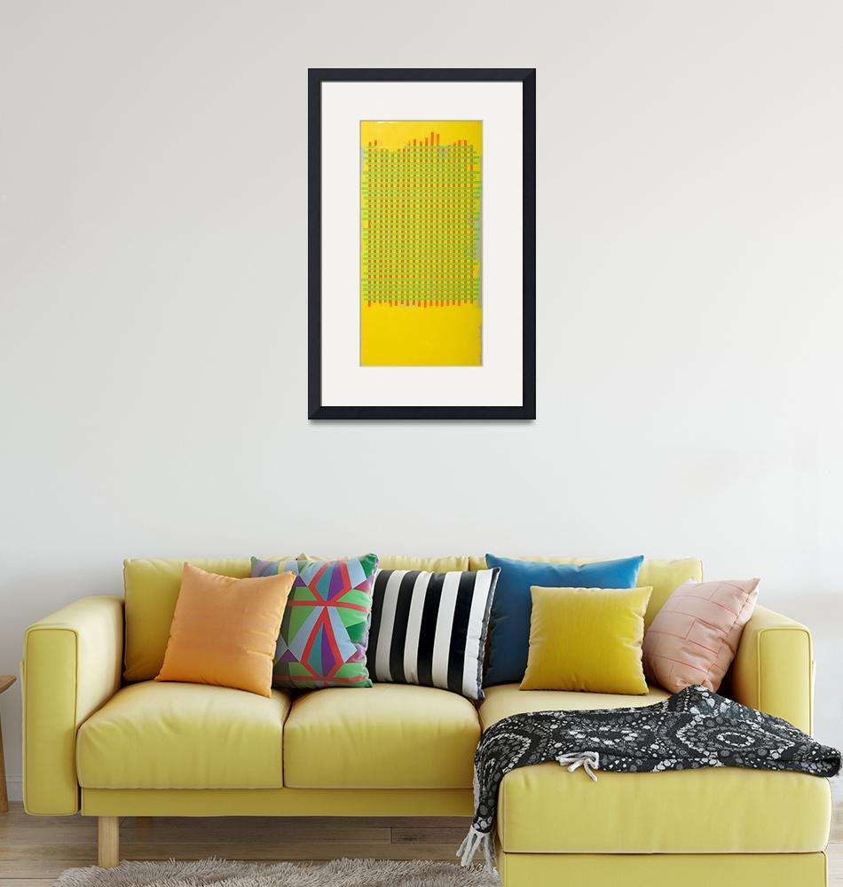 """""""yellow grid""""  by michaelcallaghan"""