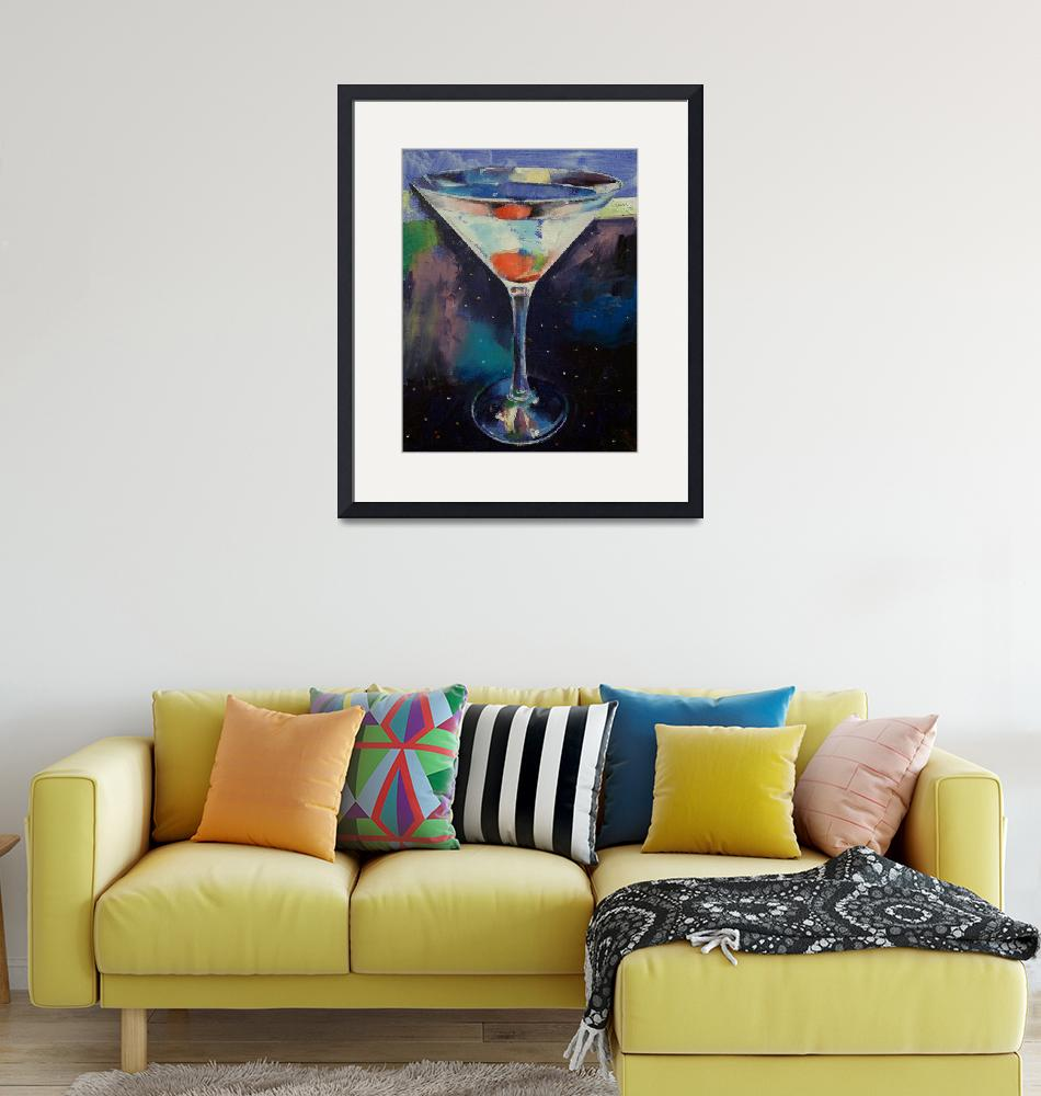 """Bombay Sapphire Martini""  by creese"