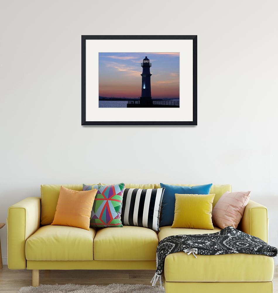 """""""Newhaven Lighthouse""""  (2007) by Sparky2000"""