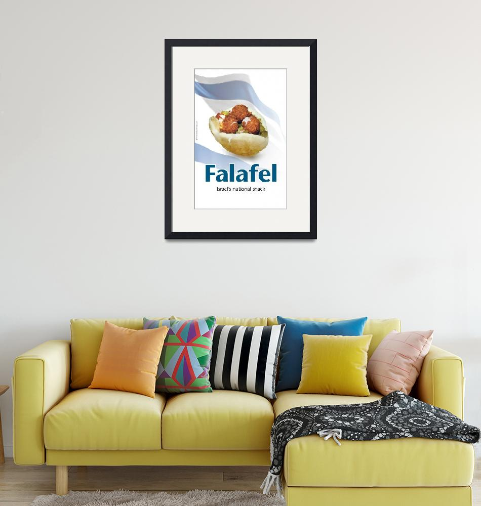 """falafel""  (2009) by PostersOfIsrael"