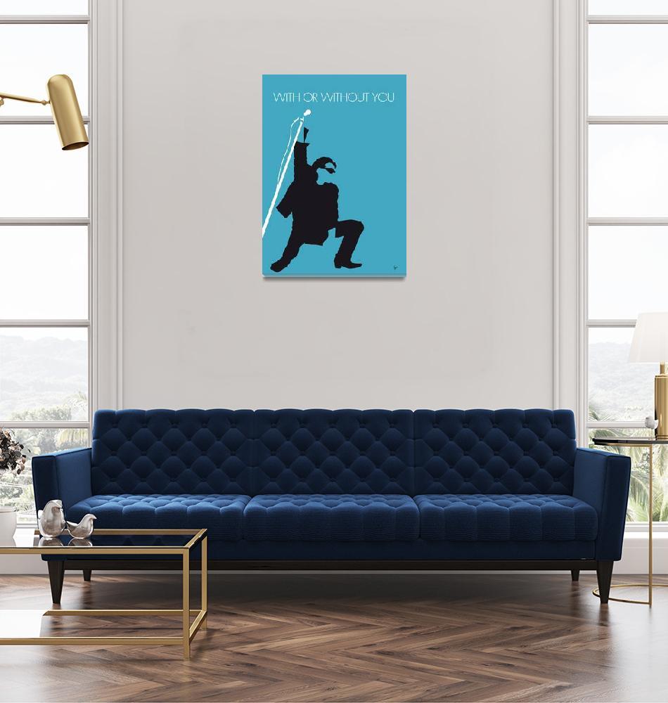 """""""No035 MY U2 Minimal Music poster""""  by Chungkong"""