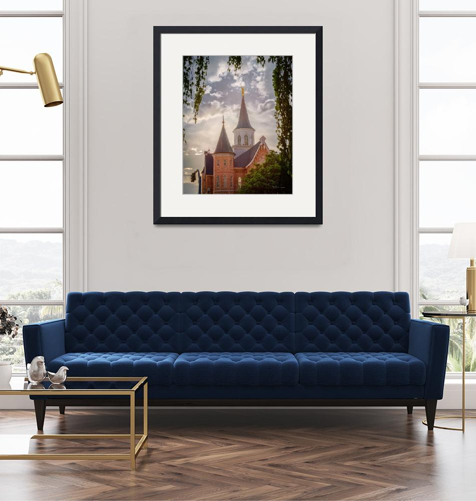 """""""Provo City Center Temple #2 by Kelly Jones""""  (2017) by dbwalton"""