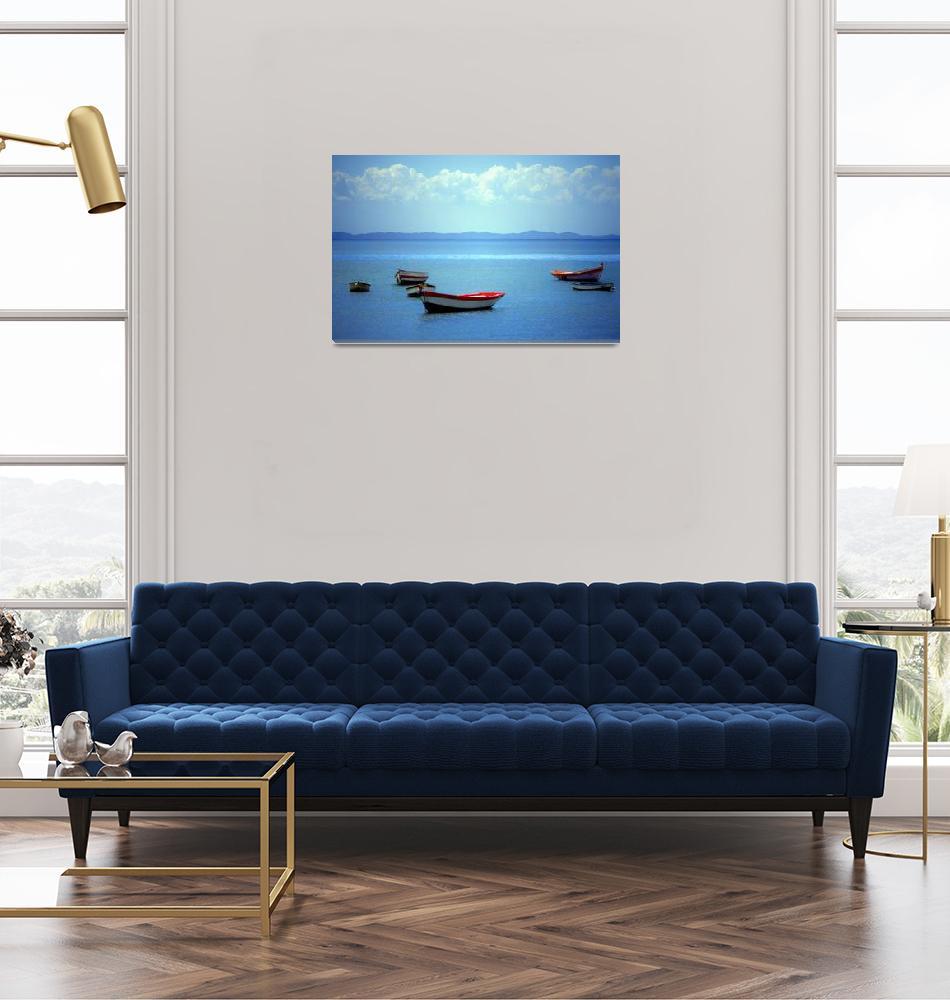 """Brazil Boat no 5""  (2002) by joegemignani"