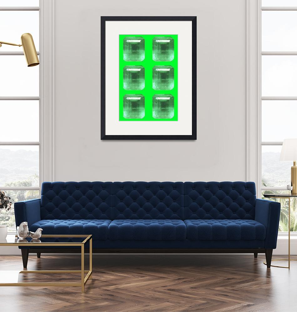 """""""Emeralds""""  (2010) by Manton-Wright"""