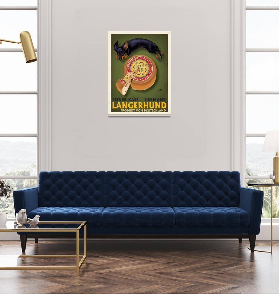 """""""Langerhund Feiner Kase""""  (2009) by OtisNewVintage"""