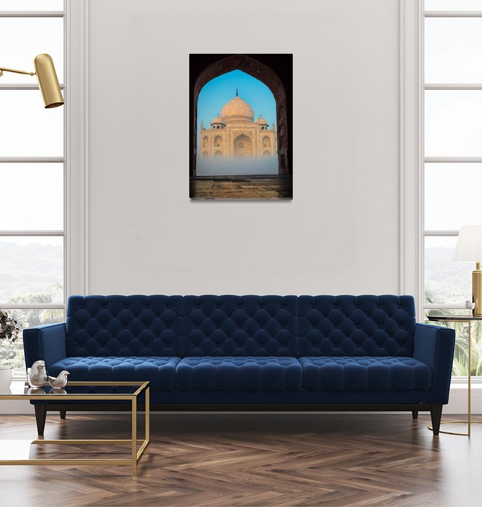 """Taj Mahal from Jawab""  (2013) by Inge-Johnsson"