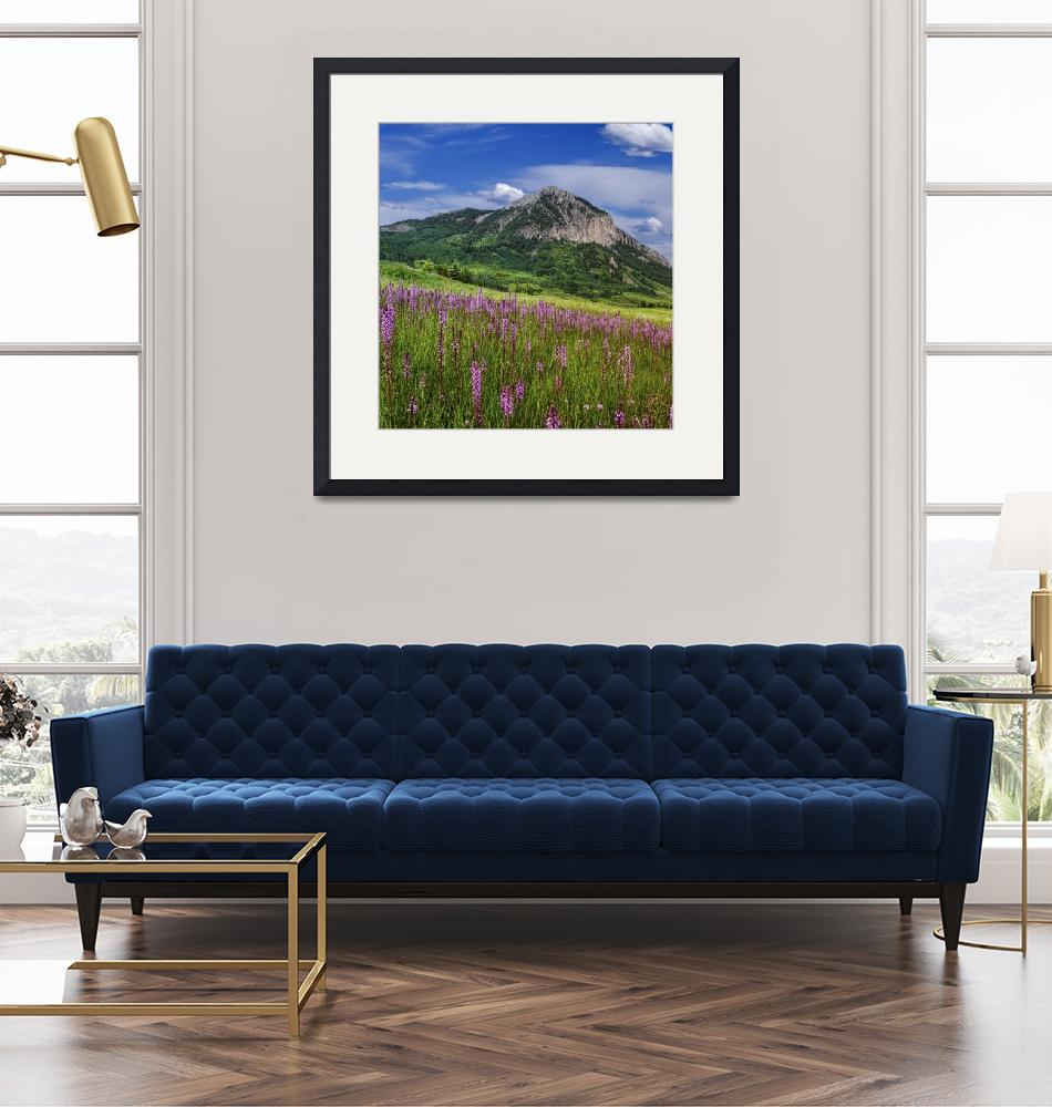 """""""Crested Butte Mountain""""  (2011) by wishiwsthr"""