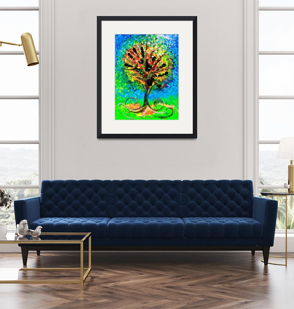 """""""Tree of Faith""""  (2019) by scarpace"""