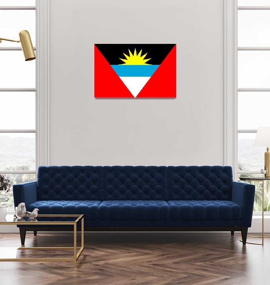 """""""Antigua and Barbuda""""  by tony4urban"""