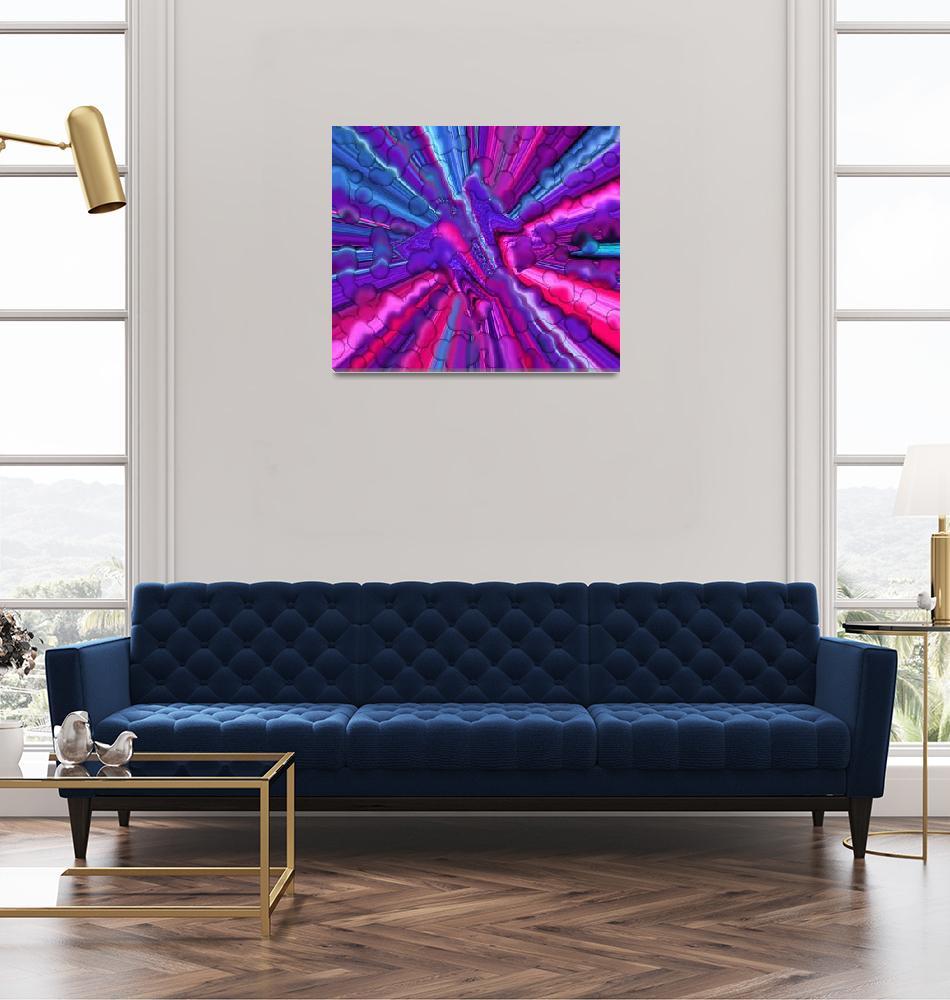 """Purple Rain""  (2011) by amfunny"