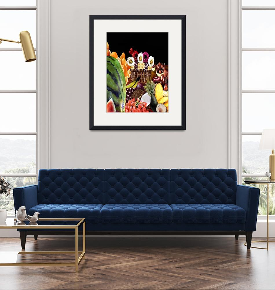 """""""Spoil me with fruits and flowers""""  by artistry4u"""