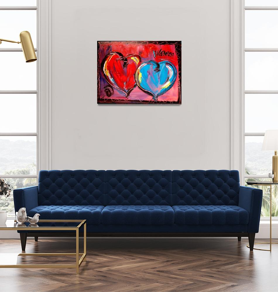 """HEARTS""  (2009) by milagallery"