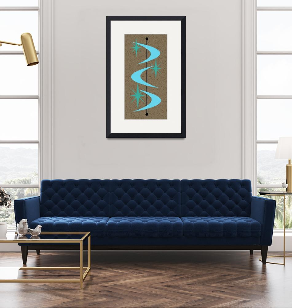 """Mid Century Modern Shapes 2""  by DMibus"