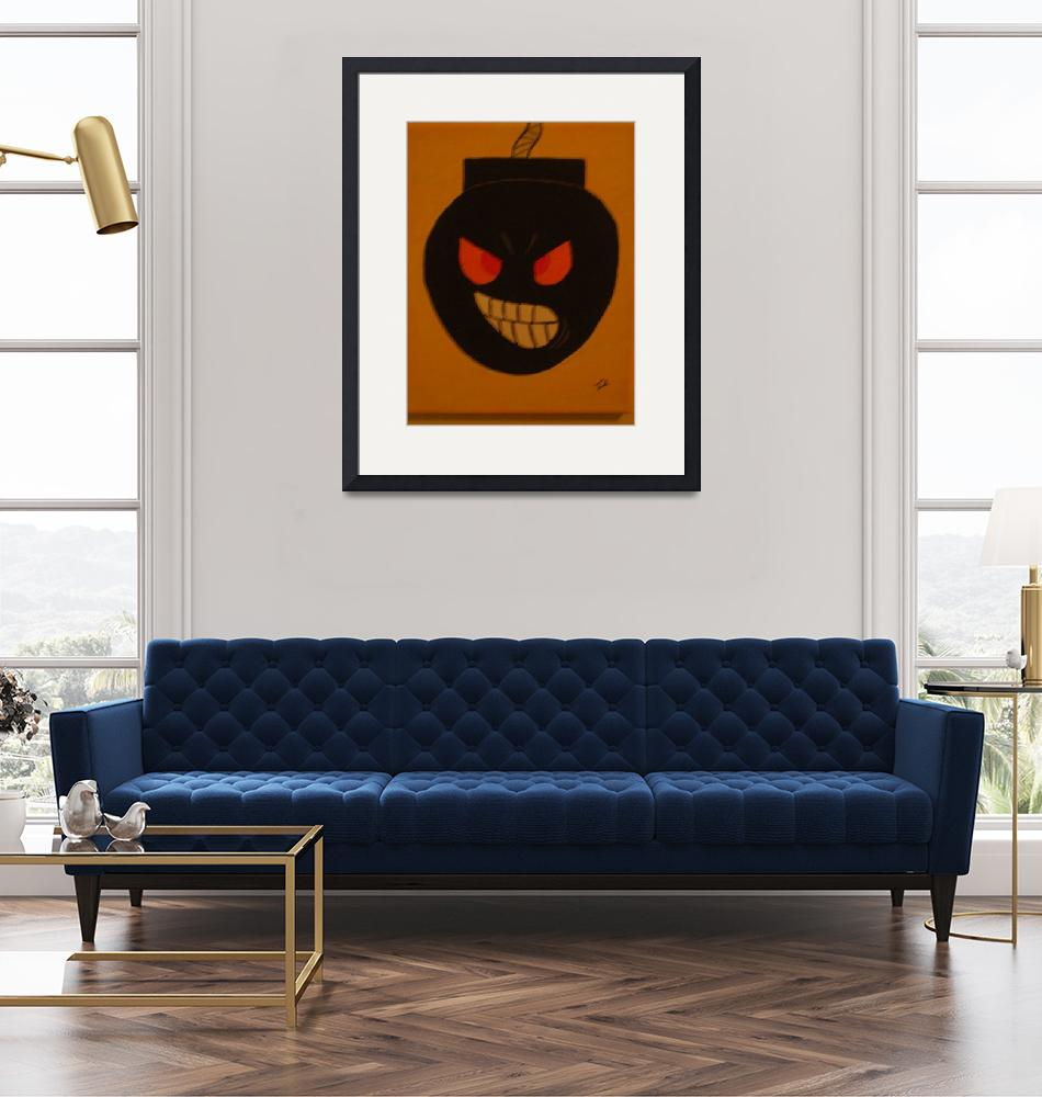 """""""Angry Bomb""""  (2010) by 23brushguy"""