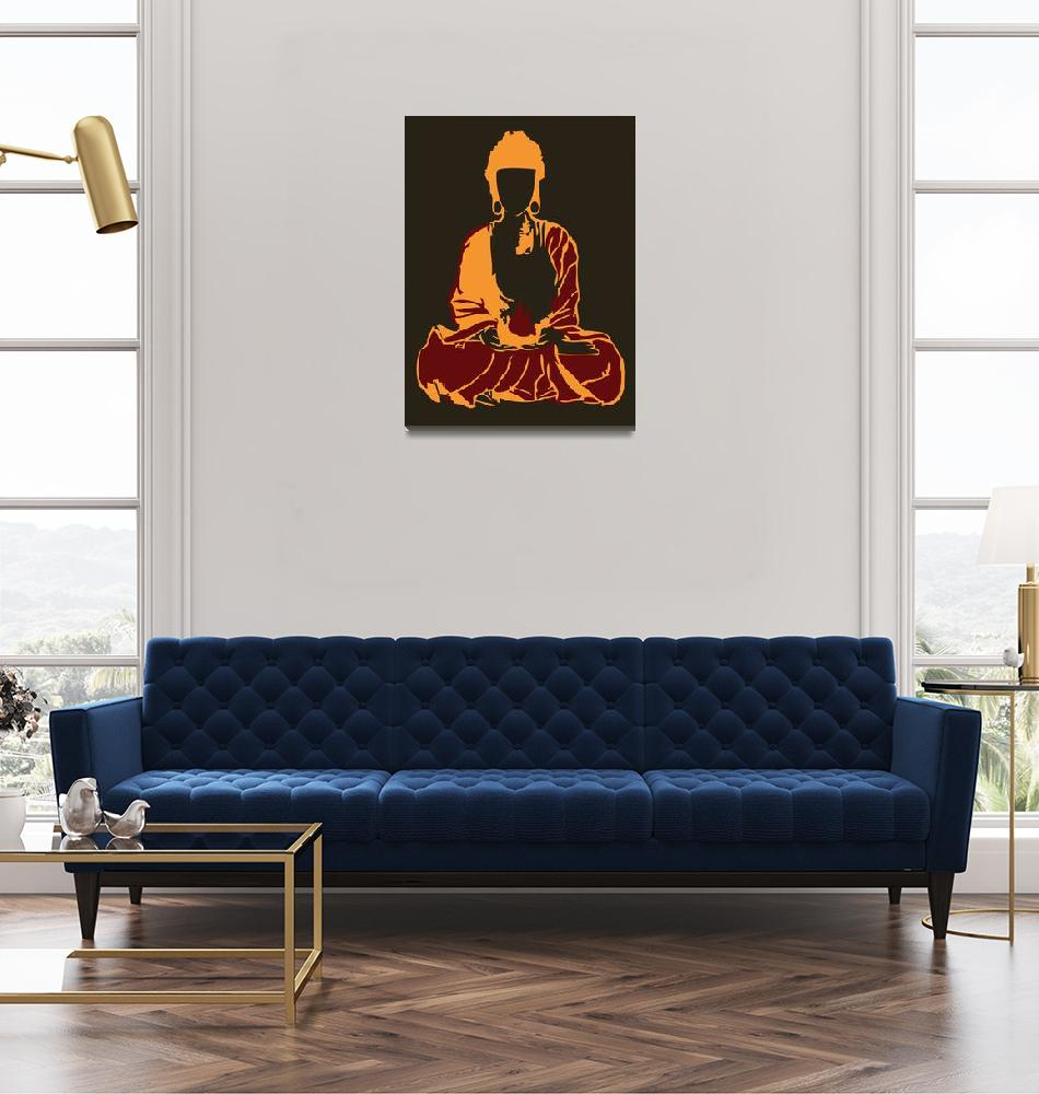 """Buddha""  (2012) by TUCArt"