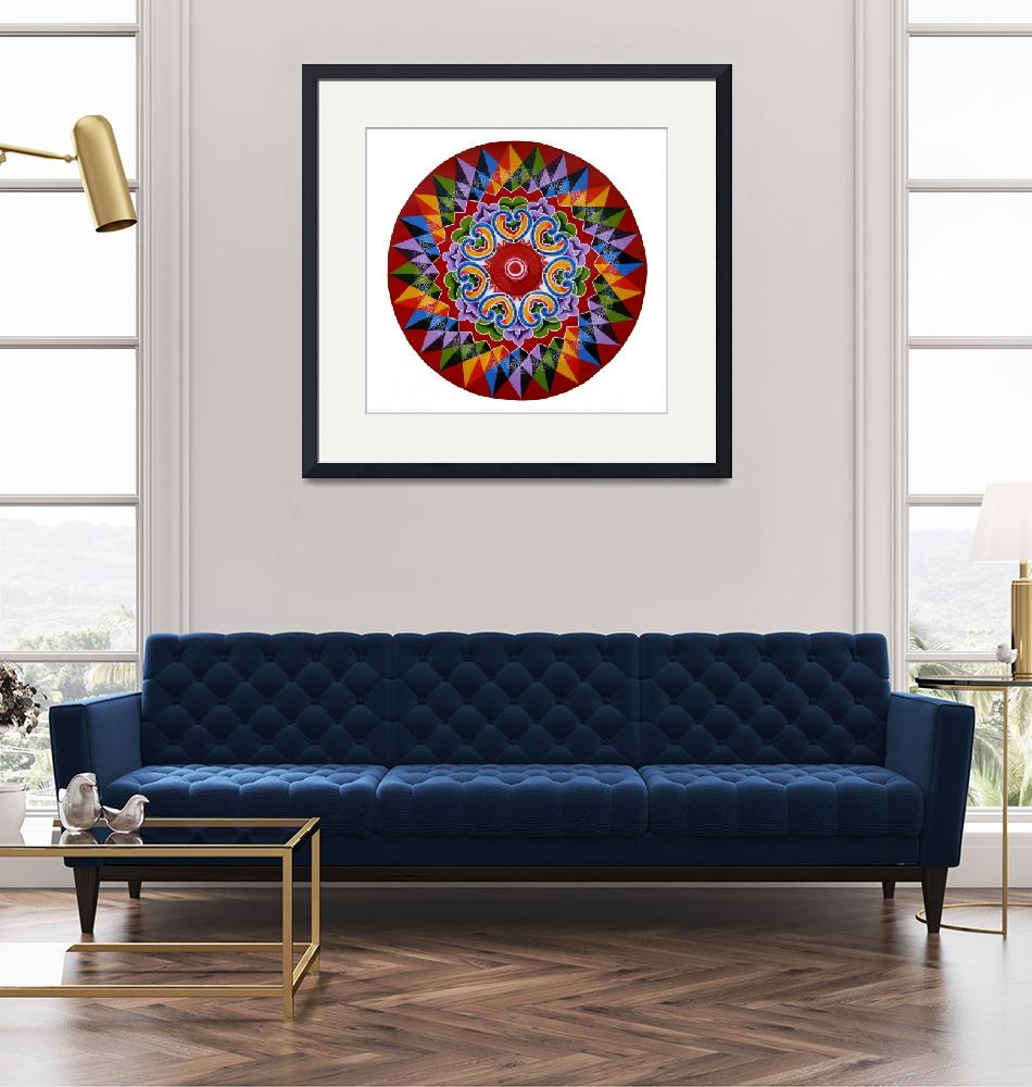 """""""Costa Rica Oxcart Wheel""""  (2018) by Cyril-Brass"""