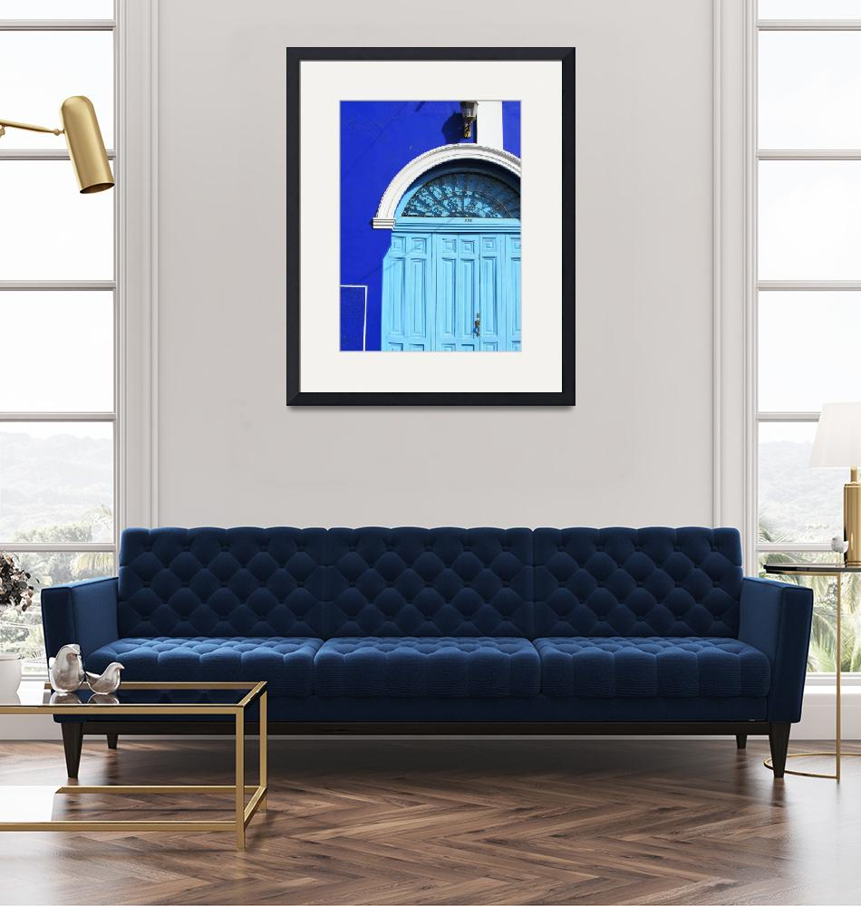 """""""Blue Portal""""  (2014) by SharonWagner"""