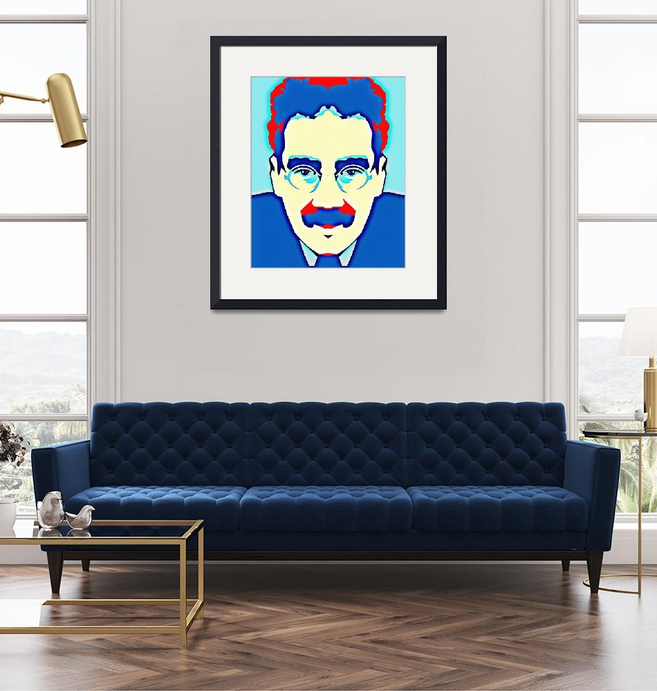 """""""Groucho Marx""""  (2013) by ArtCinemaGallery"""