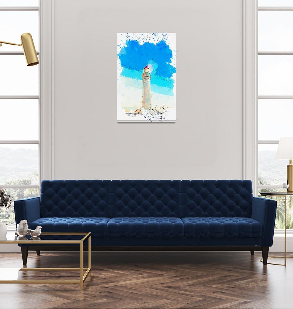 """Cape Nelson Lighthouse, Portland, Australia -  wat""  by motionage"