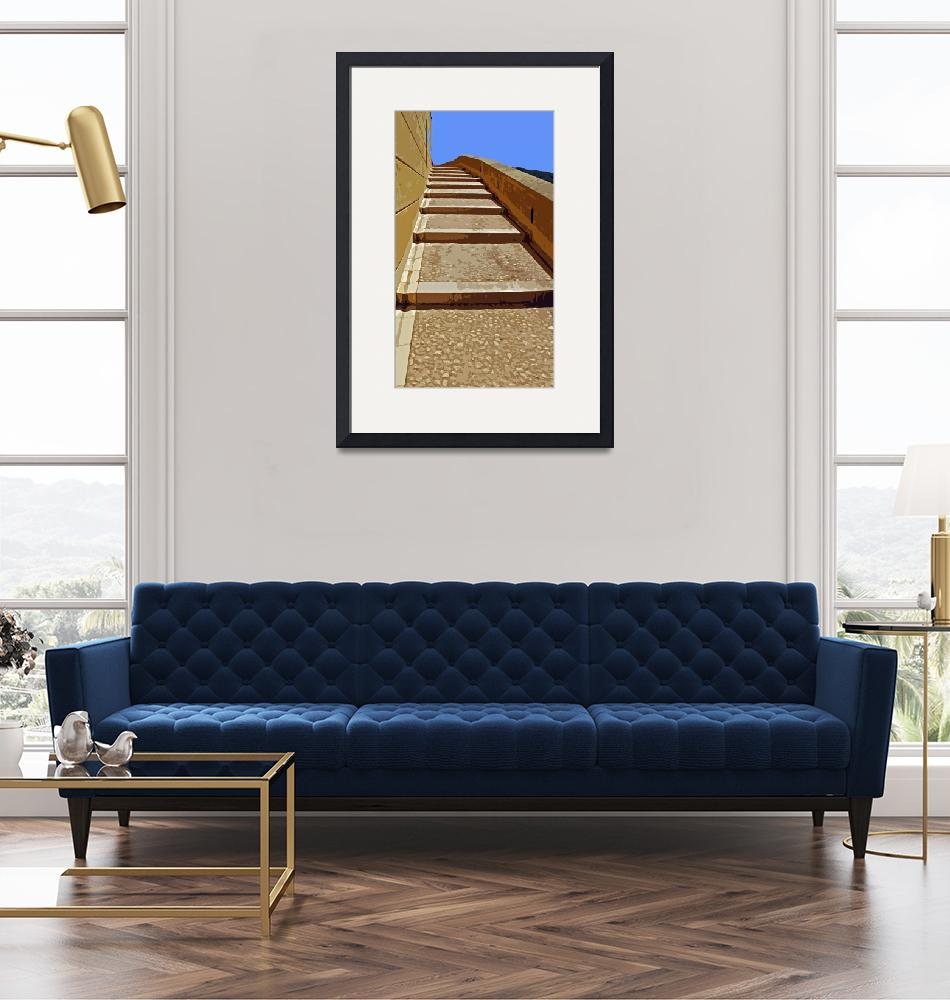 """""""Steps-right""""  (2009) by sillyjohno"""
