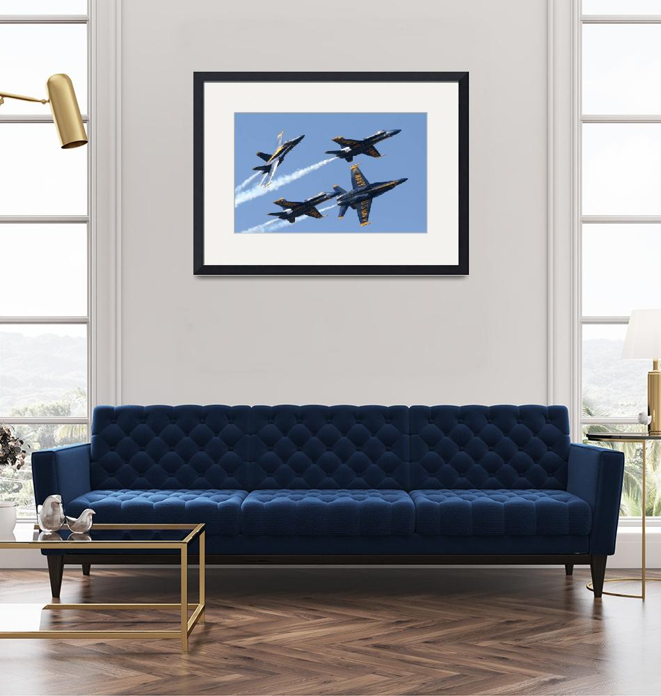 """Blue Angels""  (2007) by ColinBody"